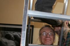 Hans-Werner,Dowgan,Dolossow machen Ausstellung von Mueller