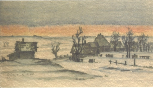 1944.05.15Dorf Sslonaje,Hofamnn