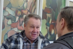 Uwe, Gesspraeck mit Yury