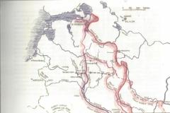 1944 Karte,Hofmann